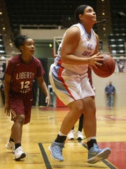 Gibson County's Justyce White was inspired by players she watched on the Lady Pioneers' 2009 and 2010 state championship teams.