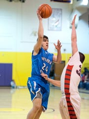 Alex Crall of Wynford was named First Team All-N10
