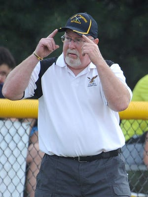 Colonel Crawford softball coach Chuck Huggins will be inducted into the Crawford County Sports Hall of Fame on March 19.