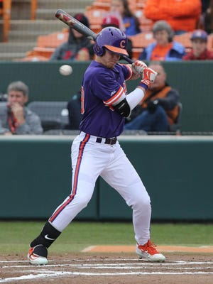 Clemson freshman Seth Beer leads the ACC with a .453 batting average.