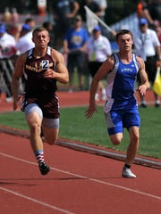 Wynford senior Cole Fortner looks for a repeat performance