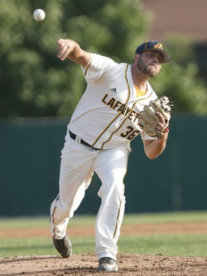 Lafayette native Peter Ripke tossed four solid innings Monday night as the Aviators split a DH with Terre Haute