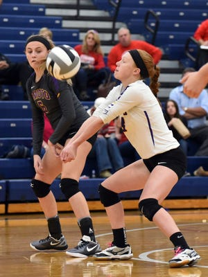 Unioto's Hallie Pinkerton recently signed national letter of intent to further her education and play volleyball at Malone University.