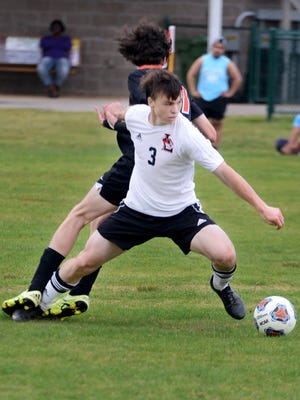 Lexington's Garrett Winget scored six goals in two matches this week for the Tigers.