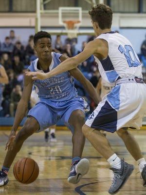 Freehold Township vs CBA boys basketball