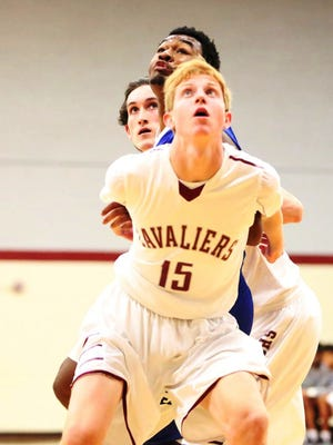 Crockett County's Nolan Holyfield is a senior member of the Cavaliers' basketball team.