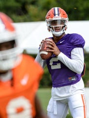 Kelly Bryant is expected to start the season at quarterback