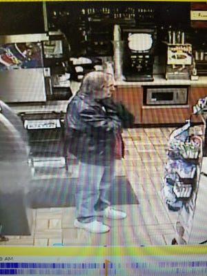 William Hoffman, a missing Greer man, was seen Saturday night at a convenience store near his home.