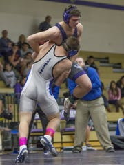 McQueen's Joe Miller won the state and Region wretsling titles last year at 195 pounds.