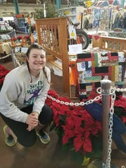 Emily Eckard, earned the coveted Best of Show Award at this year's PA Farm Show. Her pieced patchwork, machine embroidered and long armed quilt won a  first place ribbon in the Open Youth Class of Quilting. submitted photo