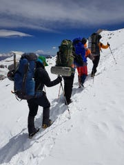 Climbing Aconcagua does not require technical mountaineering