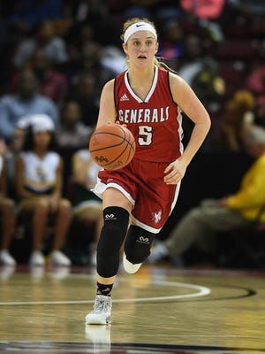 Wade Hampton senior Greyson Boone is the Greenville County Girls Basketball Plasyer of the Year after leading the Generals to the state final for the second year in a row.