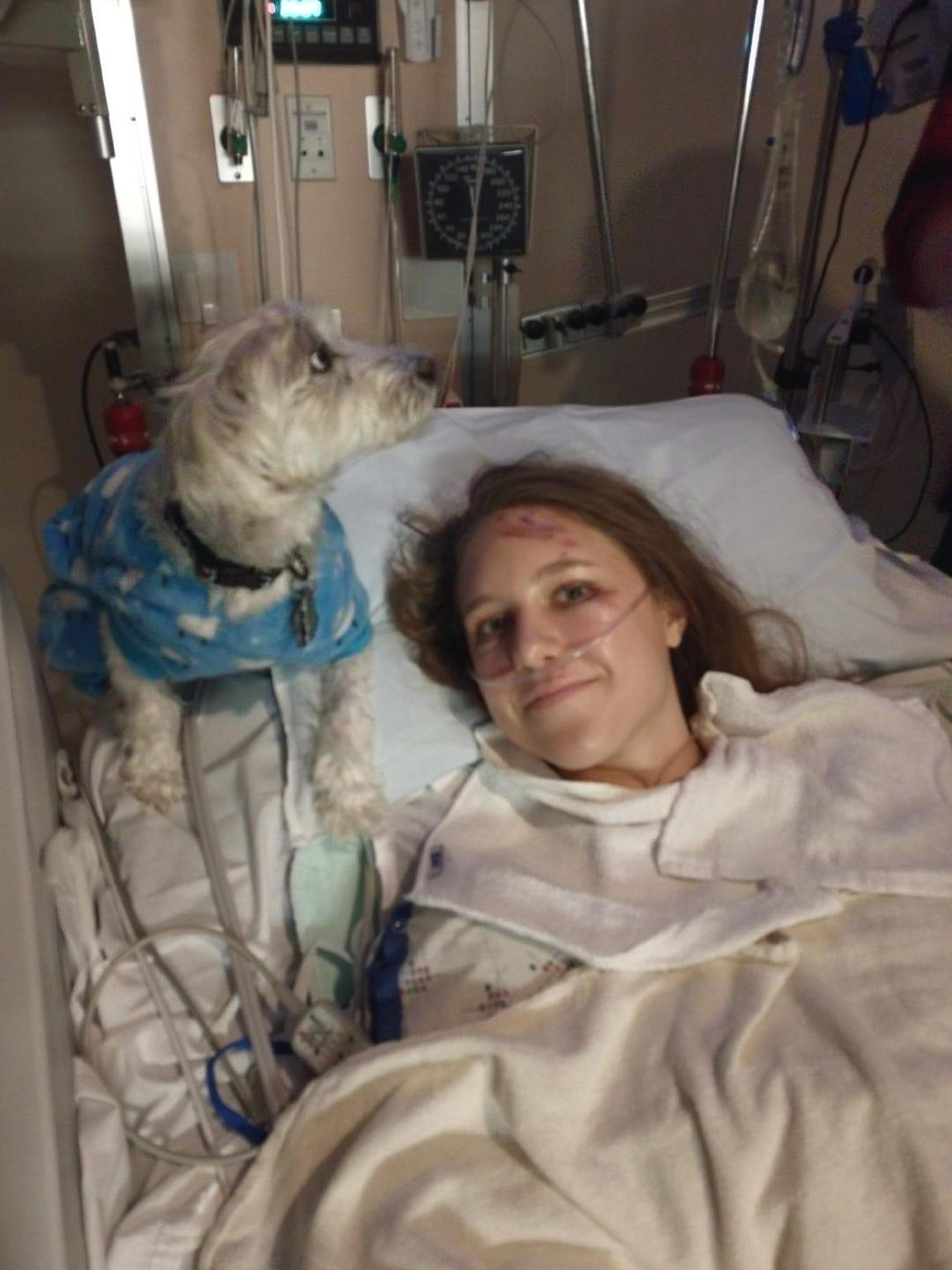Annika Kerns at Renown Medical Center.