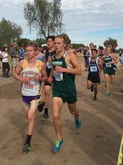 Flagstaff senior track athlete Corey Blubaum.