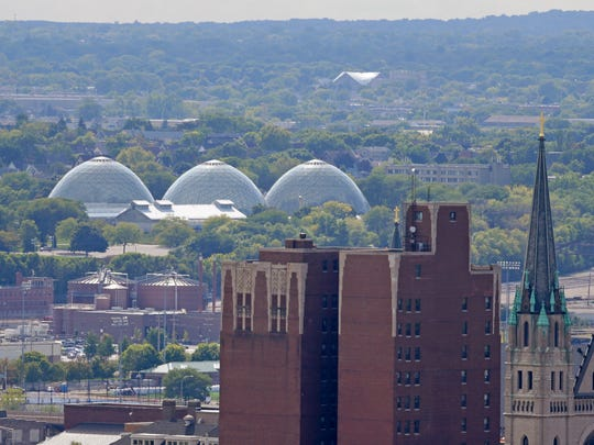 The domes at the Mitchell Park Horticultural Conservatory, highly visible landmarks at the south edge of the Menomonee Valley, are in disrepair and in need of up to $30 million in maintenance to stay open.