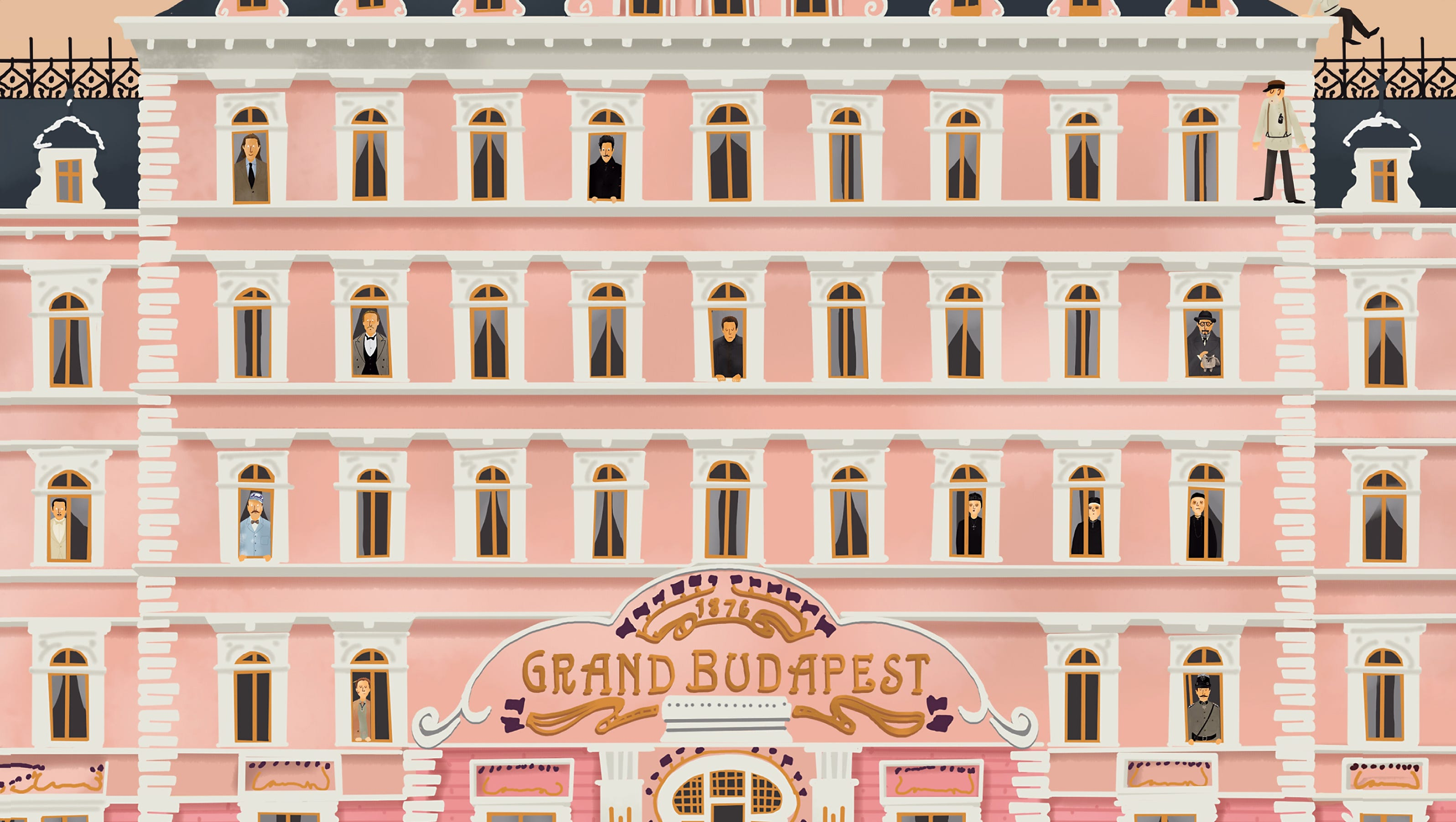 The Grand Budapest Hotel Story