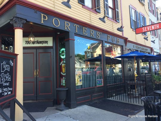 Porters Pub is best known for their Mug Club, where visitors get to try 60 beers to earn a mug.