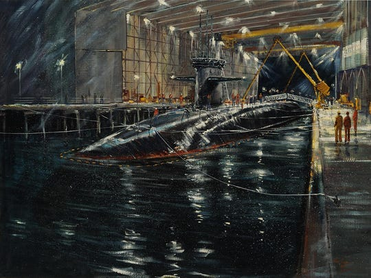 "The Rahr-West Art Museum, 610 N. Eighth St., is hosting ""Silent Service: Artwork from the Naval History and Heritage Center"" from 8 a.m. Sunday through 5 p.m. Sept. 17."