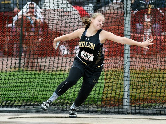 Red Lion's Madisen Kling won a PIAA championship in