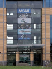 NCAA headquarters in Indianapolis, where a commission