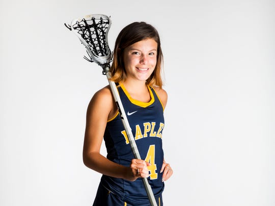 2017 Spring Player of the Year finalist Tyler Leon, Naples lacrosse