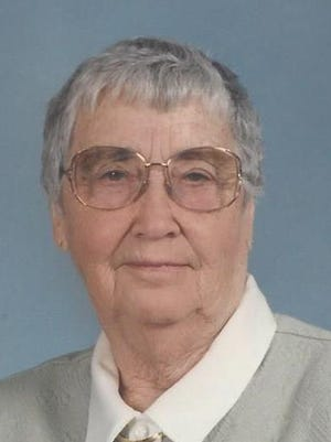 Thelma Meline passed away at home on October 19, 2014.
