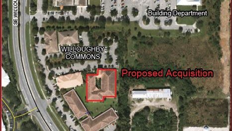 This is where Martin County wants to relocate the Utilities Department and the property appraiser's office.