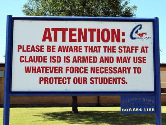 AP ARMING TEACHERS A USA TX