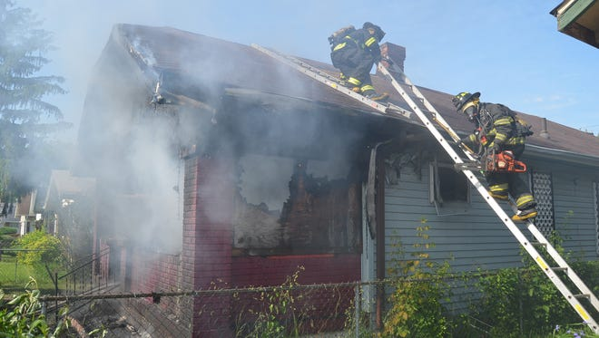 Investigators identified the man killed in a May 27 fire as 51-year-old Stacy Hudson.