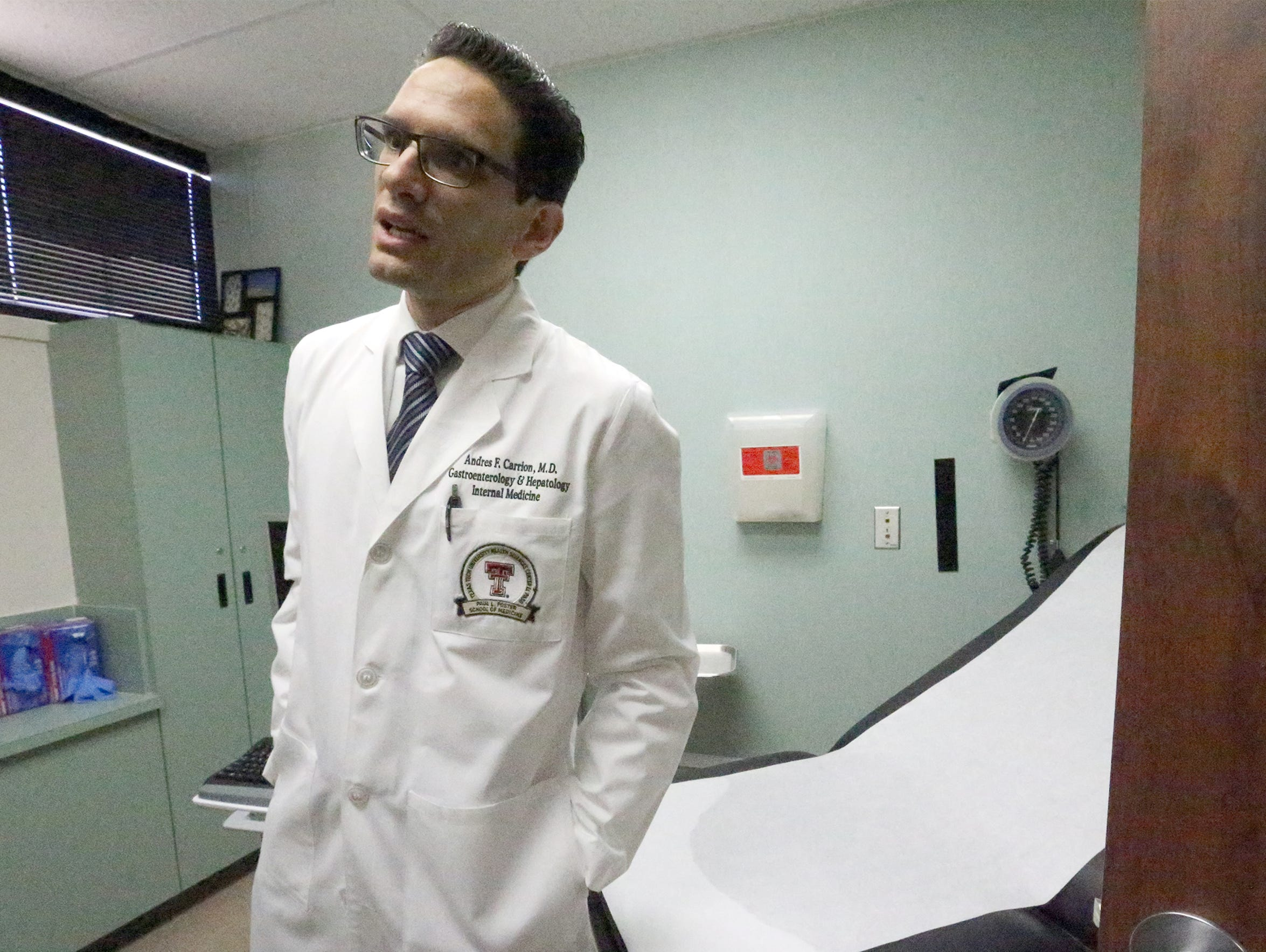 Dr. Andres Carrion is a liver specialist with Texas
