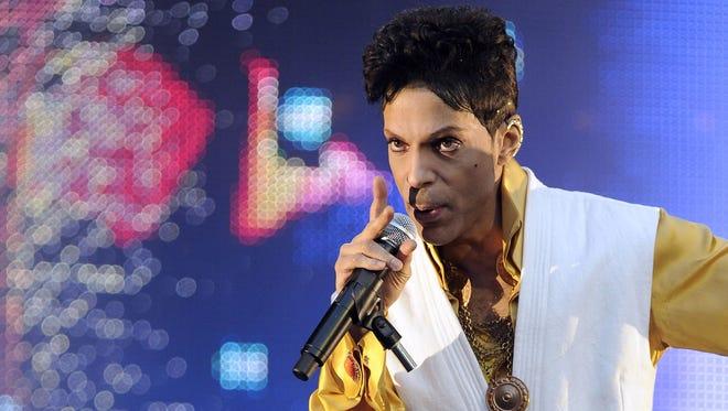 Prince in June 2011 in France.