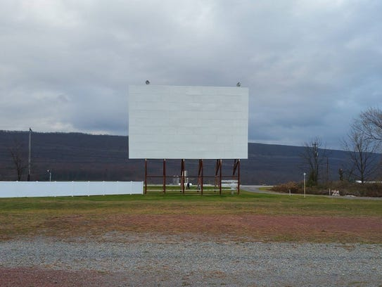 Sky-Vu Drive-In, located in Gratz, Dauphin County,