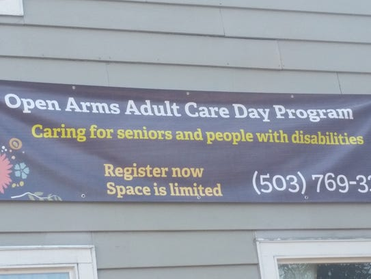 Open Arms Adult Care will offer a day program at the