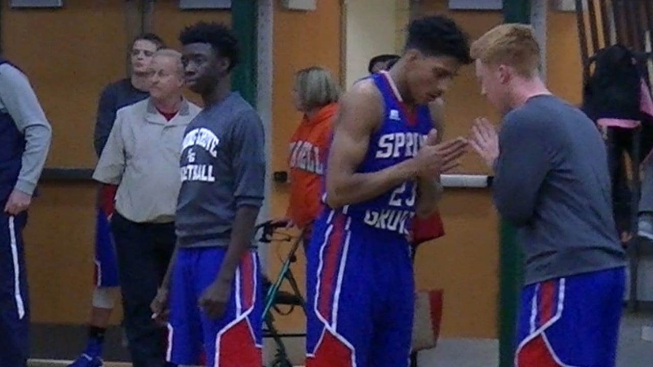 Spring Grove's Eli Brooks is having another standout season in his senior year. Hear what his teammates and an opponent have to say about playing alongside and against the University of Michigan recruit.