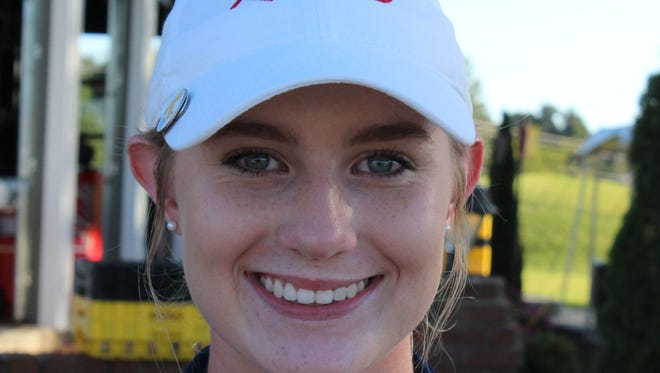 Franklin County's Malia Stovall won the TSSAA Large Division girls championship.