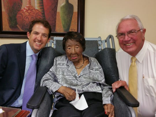 Dora Rucker, 104, died on Wednesday in Murfreesboro.