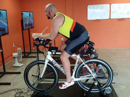 El Pasoan Mike Goeldner is training for his first Ironman Triathlon in Cozumel, Mexico on Nov. 29. The race consists of a 2.4 mile swim, a 112 mile bike and a full marathon (26.2 miles).