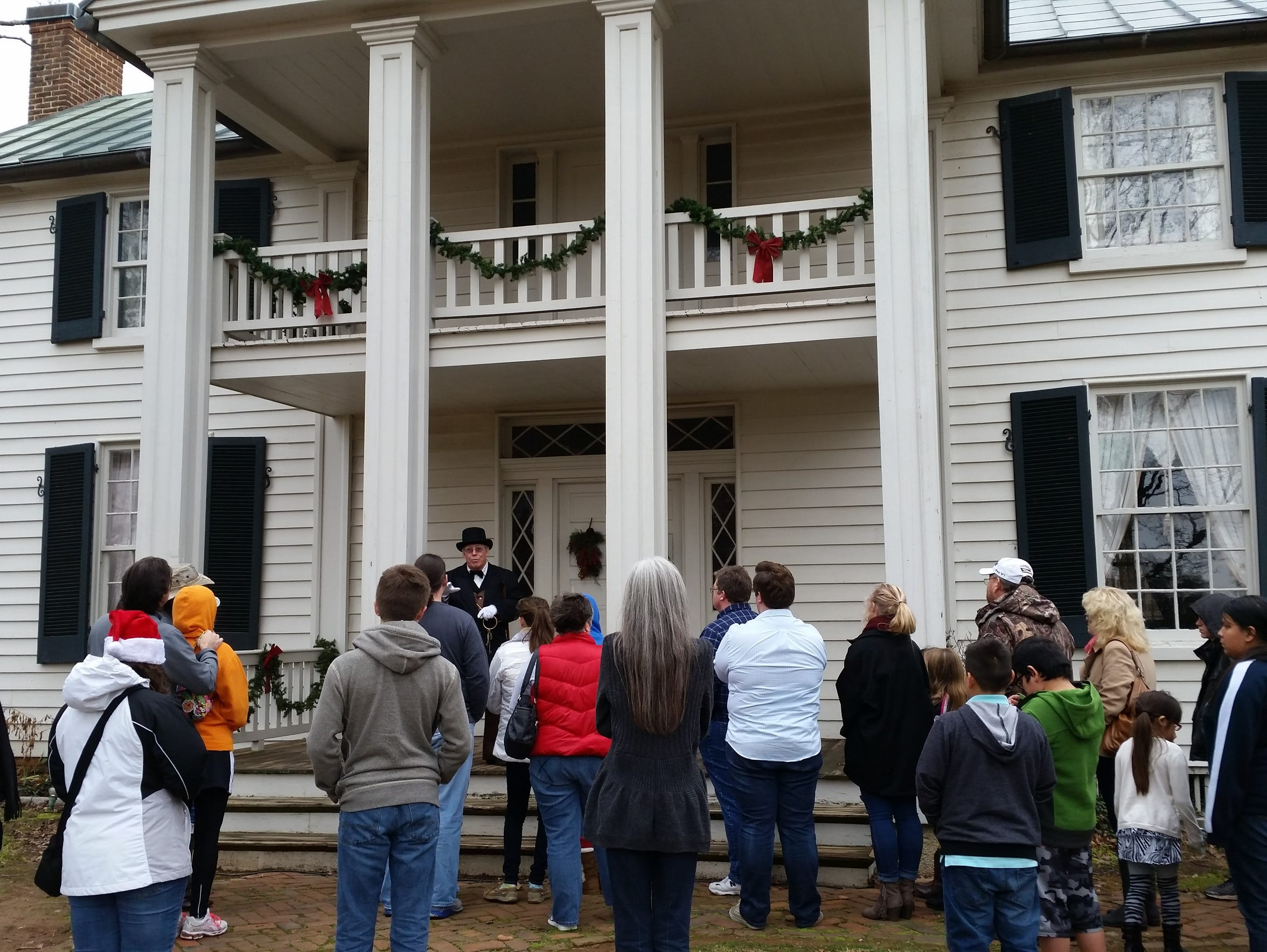 Sam Davis Home will recreate a Victorian Christmas