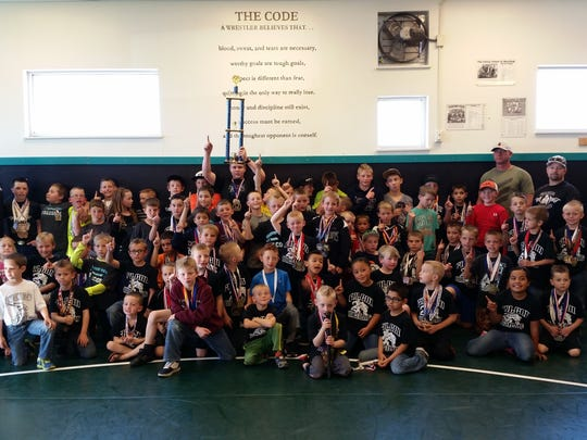 Canyon View youth wrestlers won the state championship at a tournament at North Sevier.