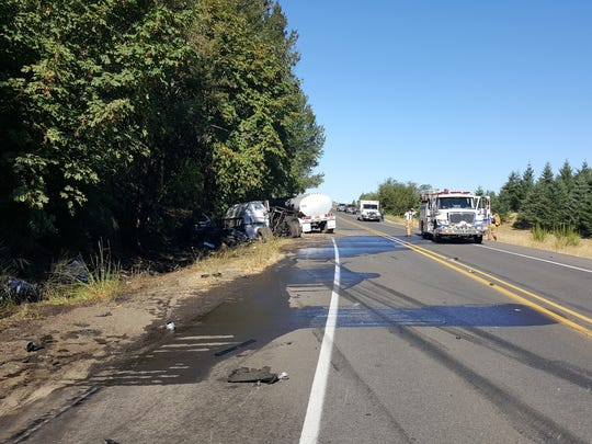 A fatal crash killed one person and closed a Marion County road for several hours Wednesday.