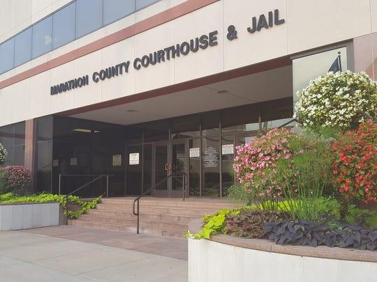 Marathon County Courthouse on Aug. 22, 2016.