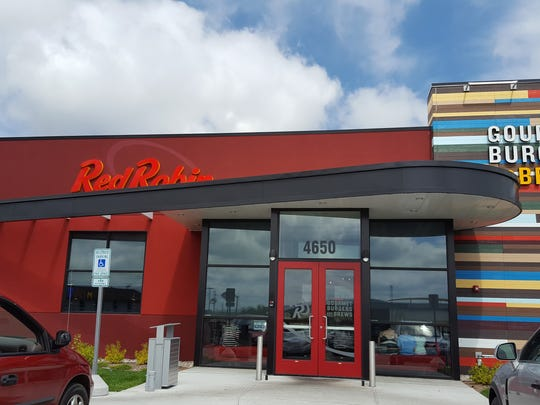 Rib Mountain's new Red Robin Gourmet Burgers opened in April and is shown here on Aug. 28, 2016. It's just a parking lot away from the new Dick's Sporting Goods.
