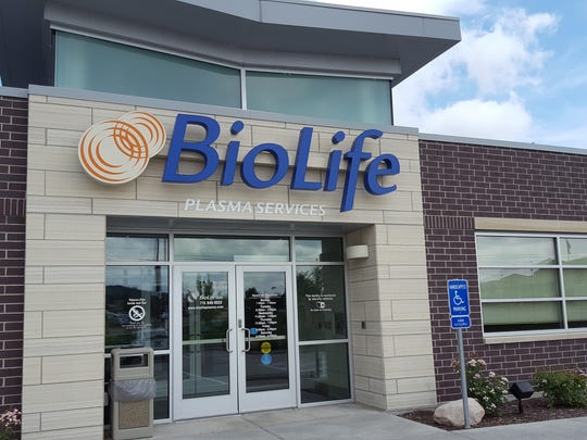 BioLife Plasma Services, a plasma collection center, is open at Rib Mountain Drive and Oriole Lane, and it still looked new on Aug. 28, 2016.