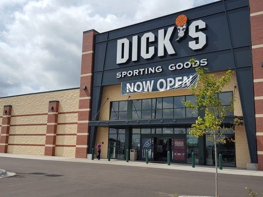 Dick's Sporting Goods opened its Rib Mountain store in August. It replaced a truck stop and gas station. Here it is on Aug. 28, 2016.