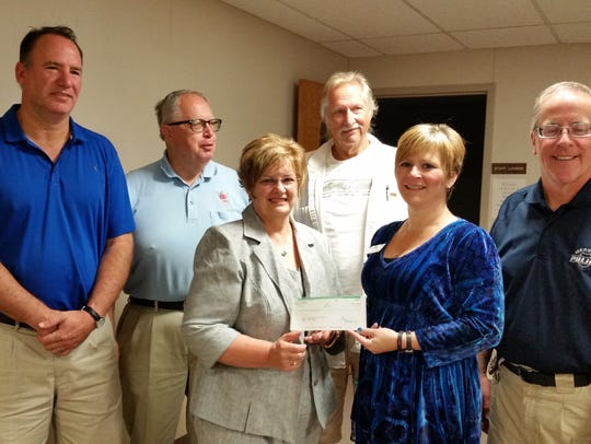 LCHS and Crime Stoppers were joint recipients of their