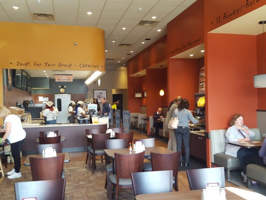 Zoup!, the soup-focused restaurant chain, will open