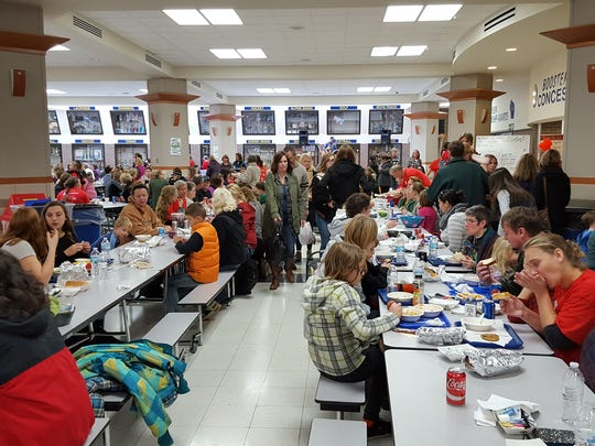 The local community turned out in droves for the Empty Bowls event at Wausau West on Saturday afternoon.