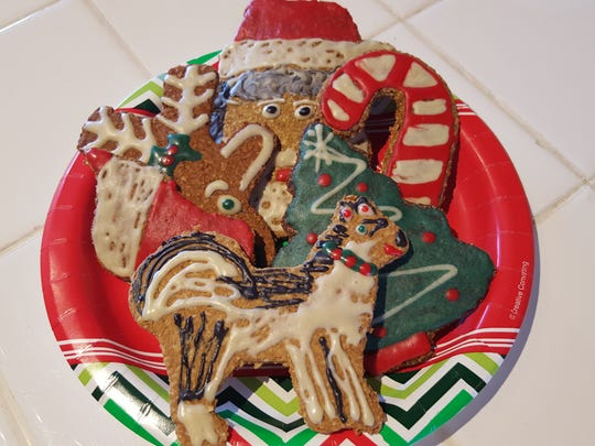 Christmas-y locavore treats for your dog are a thing