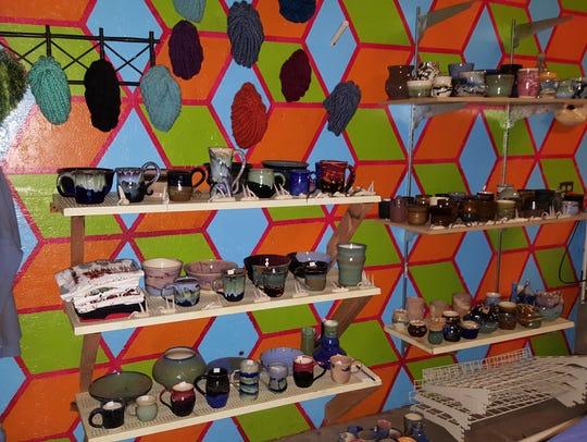 Veronica Carrel is focusing on ceramic work.