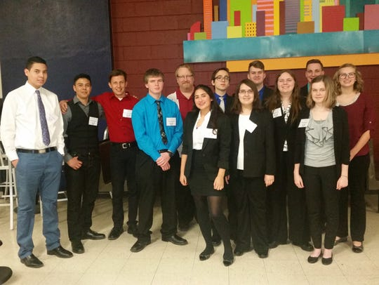 Carlsbad Early College High School BPA state conference